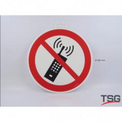 """Panneau """"Téléphone mobile..."""